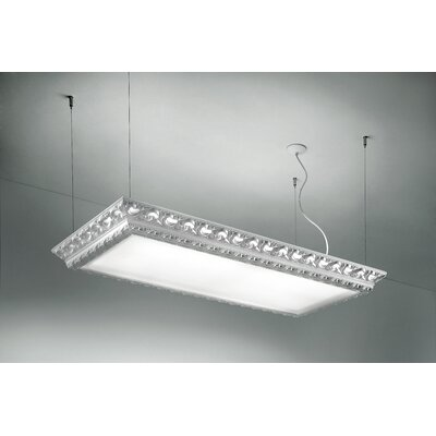 Arte LED Light Hanging Ceiling Fixture Finish: Matte White, Dimmable: No