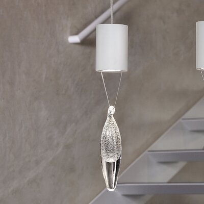Anima 1-Light Pendant Crystal Color: Silver