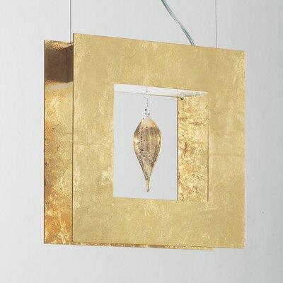 Klok LED Light 1 Glass Drop Pendant