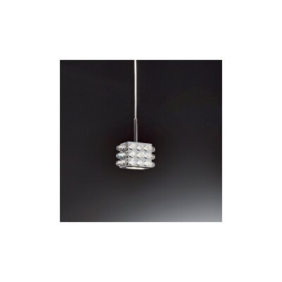 Cubix 1-Light Pendant Crystal Type: Swarovski