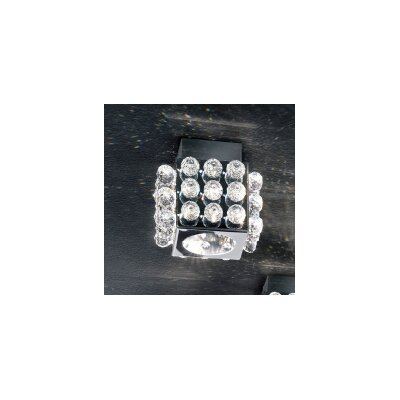 Cubix 1-Light Flush Mount Crystal Type: Swarovski