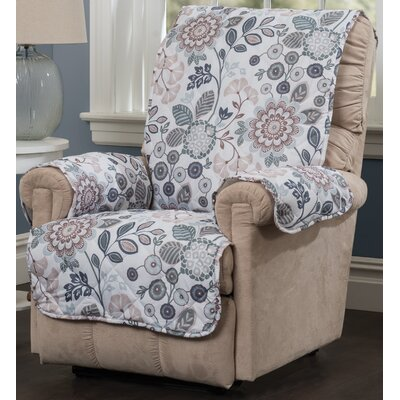 Palladio Recliner Slipcover Upholstery: Blue