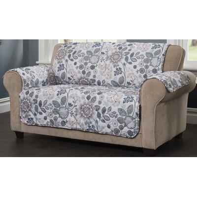 Palladio Sofa Slipcover Upholstery: Blue