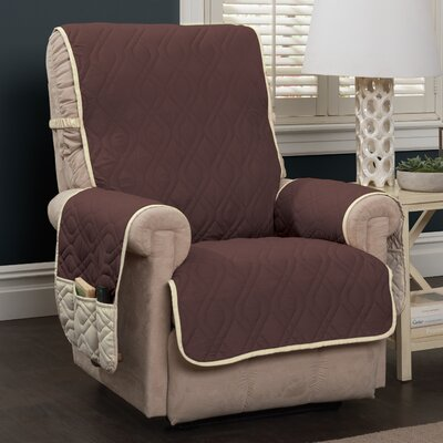 Five Star Furniture Protector Recliner Slipcover Color: Chocolate
