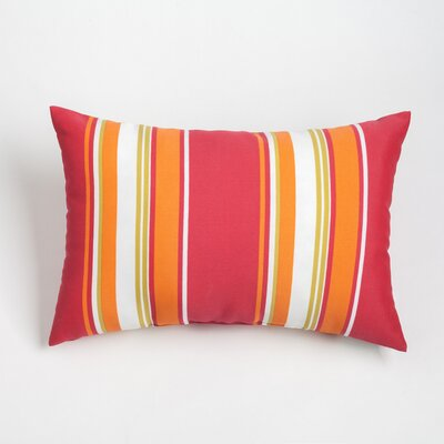 Gayle Outdoor Lumbar Pillow Color: Jalapeno