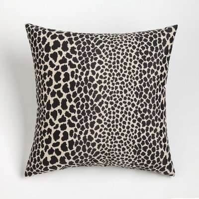 Naguib Outdoor Throw Pillow Size: 20 x 20, Color: Java