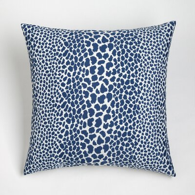 Naguib Outdoor Throw Pillow Size: 20 x 20, Color: Navy