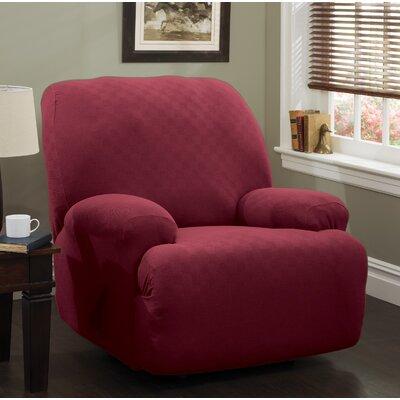 Jumbo T-Cushion Recliner Slipcover Upholstery: Brick