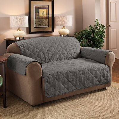 Pet Loveseat Cover Upholstery: Gray