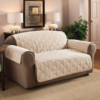 Pet Loveseat Cover Upholstery: Natural