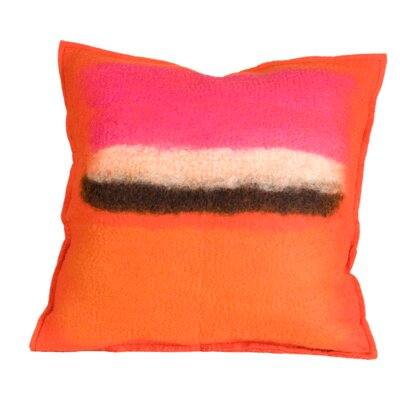 Decarlo Wool Throw Pillow