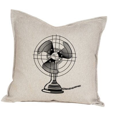 Hendershot Fan Cotton Throw Pillow