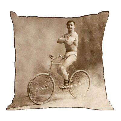 Henegar Muscle Man Cotton Throw Pillow