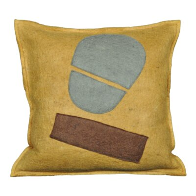 Delvecchio Wool Throw Pillow