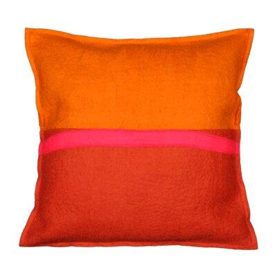 Demar Fire Wool Throw Pillow
