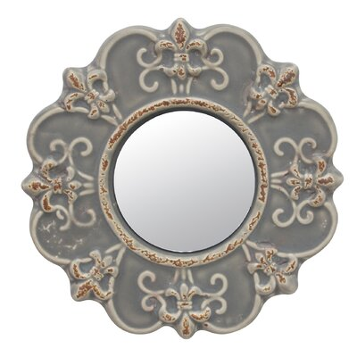 Coulson Ceramic Accent Wall Mirror