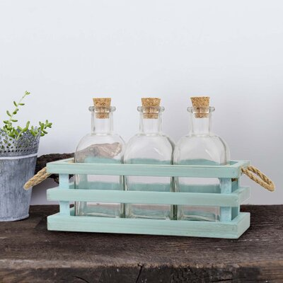 3 Piece Decorative Bottle Set (Set of 2)