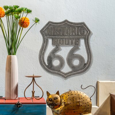 Stonebriar Route 66 Wall Decor