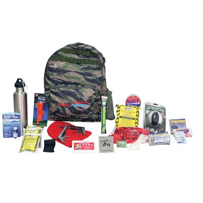 Emergency Deluxe 1 Person Outdoor Survival Kit