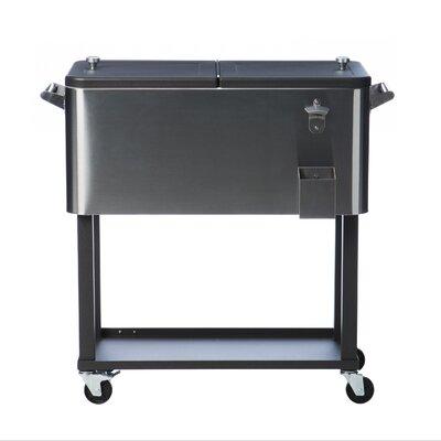 80 Qt. Cooler with Casters TXK-0802