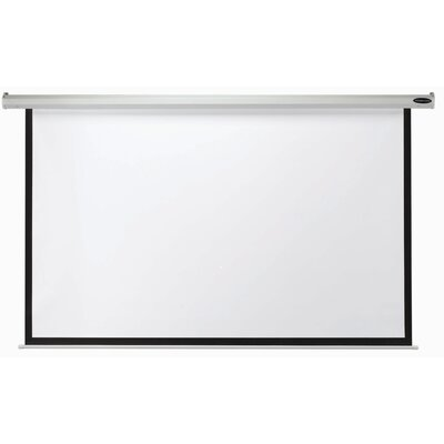 Matte White Manual Projection Screen Viewing Area: 84 H x 84 W