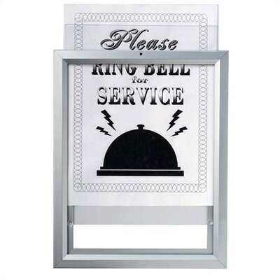 Insta Frame Removable Sign and Poster System Size: 28 H x 44 W