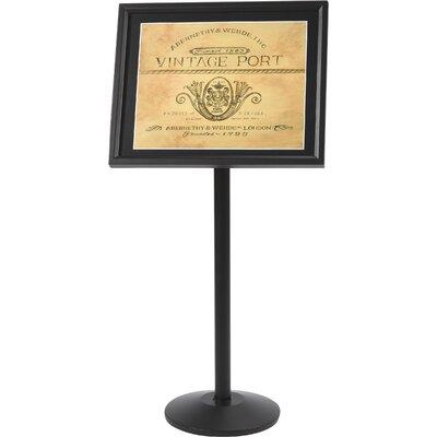 Single Pedestal Broadcaster Color: Black