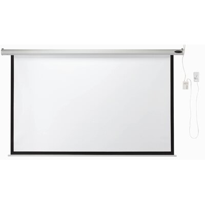 Matte White Electric Projection Screen Viewing Area: 84