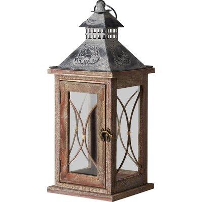 Laterne aus Holz und Glas (Set of 2) | Dekoration > Kerzen und Kerzenständer > Laternen | Brambly Cottage