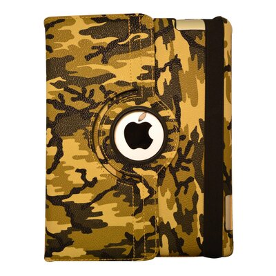 Bargain Tablet Parts Camouflage Rotating Case - Color: Green at Sears.com