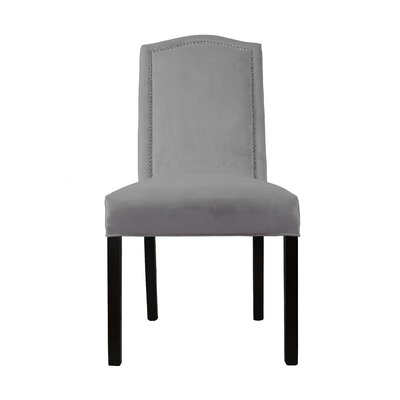 Kacey Star Parsons Chair Upholstery: Charcoal
