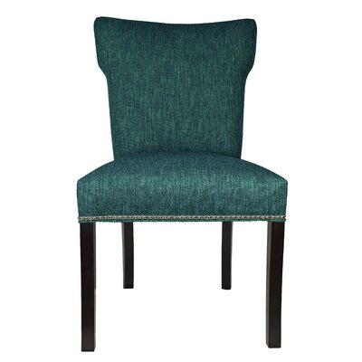 Key Largo Parsons Chair Upholstery: Zenith Teal