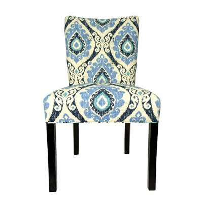 Victoria Parsons Chair Upholstery: Blue Berry