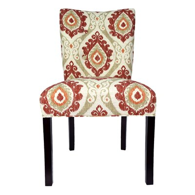 Victoria Parsons Chair Upholstery: Tangerine