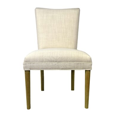 Alex Parsons Chair Upholstery: Ivory