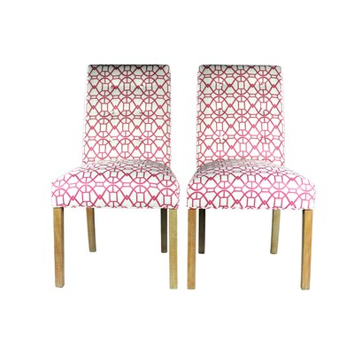 Parsons Chair Upholstery: Blush