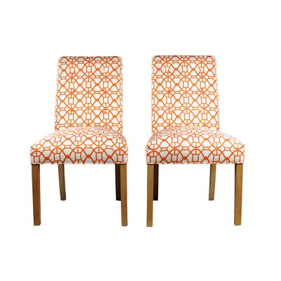 Parsons Chair Upholstery: Sunset