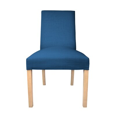 Parsons Chair Upholstery: Denim