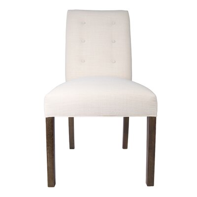 Kacey Side Chair Upholstery: Ivory