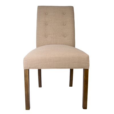 Kacey Side Chair Upholstery: Pebble