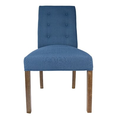 Kacey Side Chair Upholstery: Denim