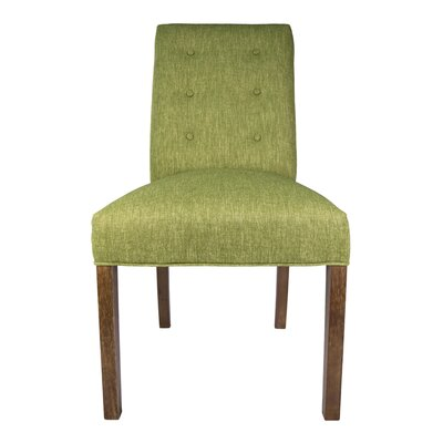 Kacey Side Chair Upholstery: Grass