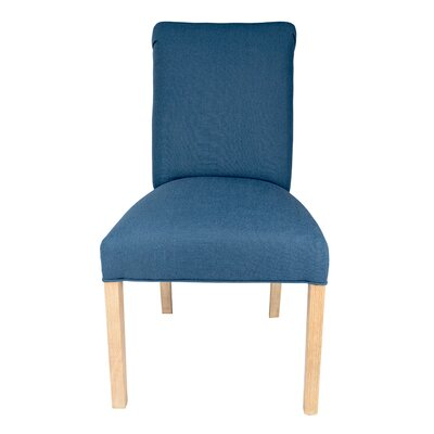 Parsons Chair Upholstery: Denim