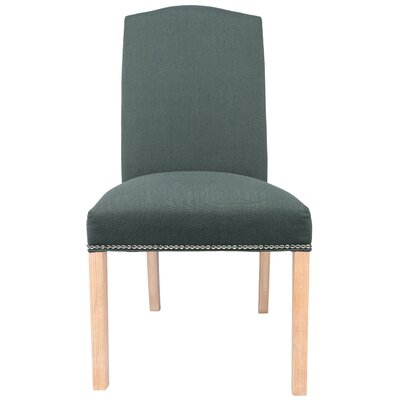 Parsons Chair Upholstery: Charcoal