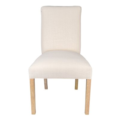 Parsons Chair Upholstery: Ivory