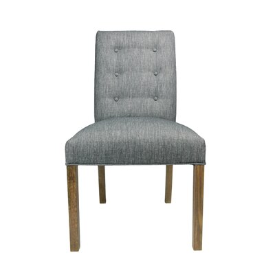 Kacey Side Chair Upholstery: Ash