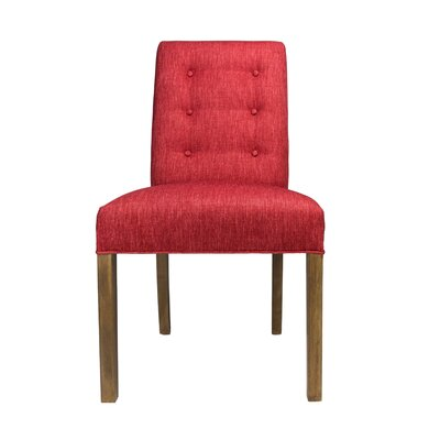 Kacey Side Chair Upholstery: Ruby