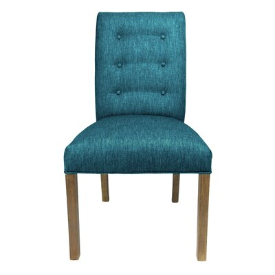 Kacey Side Chair Upholstery: Zenith Teal