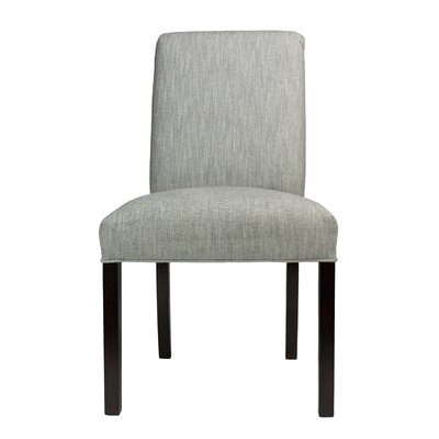 Side Chair Frame Color: Natural, Upholstery: Luck Terra Cotta