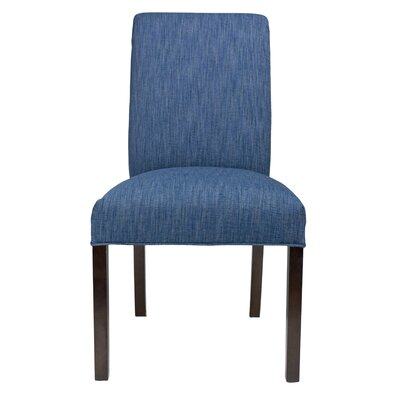 Side Chair Frame Color: Espresso, Upholstery: Key-Largo Denim